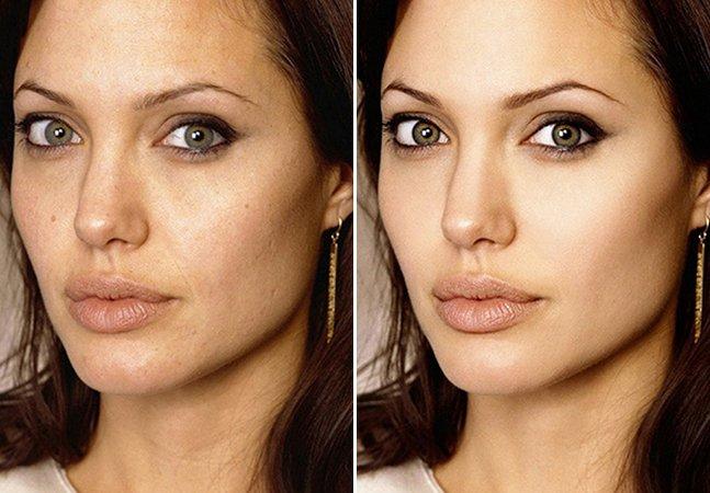 10 celebridades antes e depois do Photoshop mostram como os padrões de beleza são irreais
