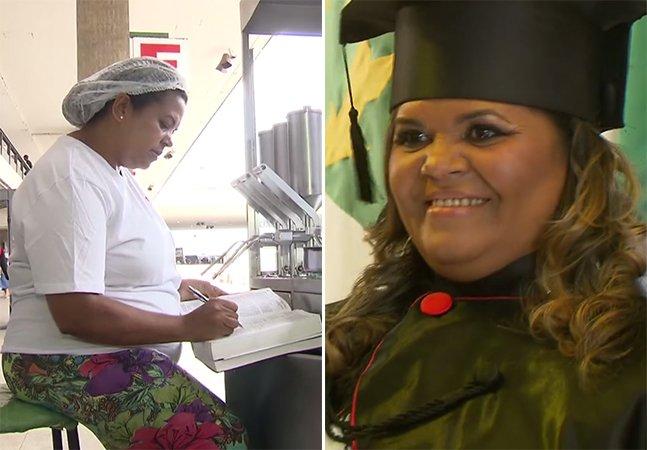Moradora do DF vende churros a R$ 1 durante 7 anos para se formar em direito – e agora conseguiu!