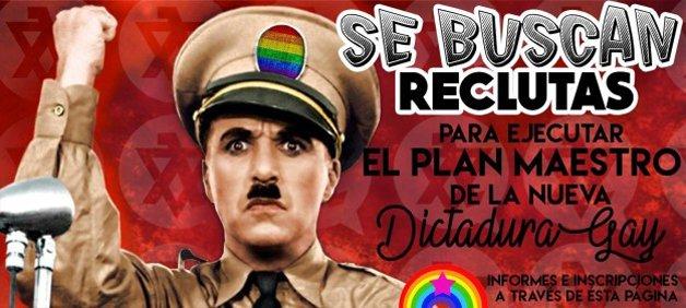 Buscam-se recrutas para executar o plano-mestre da nova Ditadura Gay