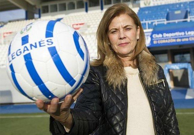 Ela tirou o Leganés da crise diretamente para a primeira divisão do Campeonato Espanhol