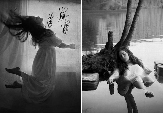 Fotógrafa explora sua própria bipolaridade e transtornos mentais com série de fotos intensa