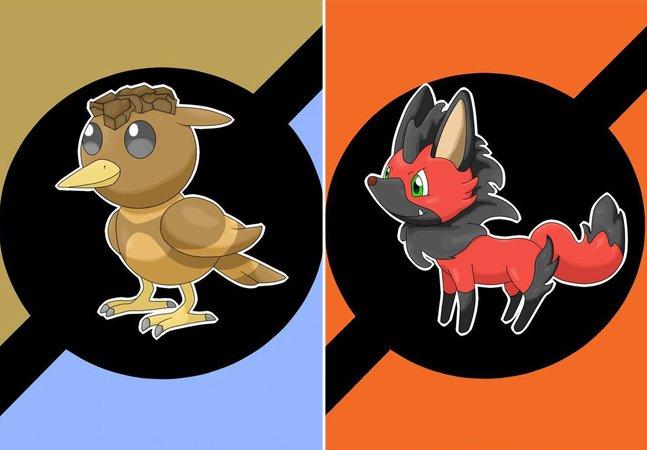 Biólogo paulistano cria série maravilhosa de 'Pokémons brasileiros' inspirados em animais icônicos
