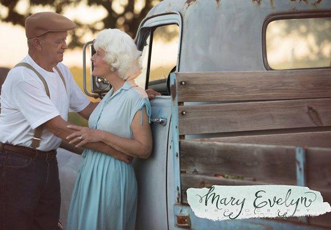 Este casal se inspirou em 'Diário de uma Paixão' para celebrar seus 57 anos de casado