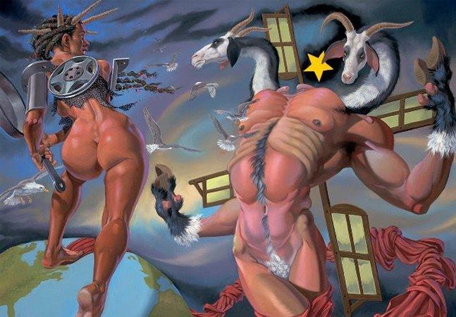 O grotesco e a sexualidade agressiva no trabalho de de Van Arno