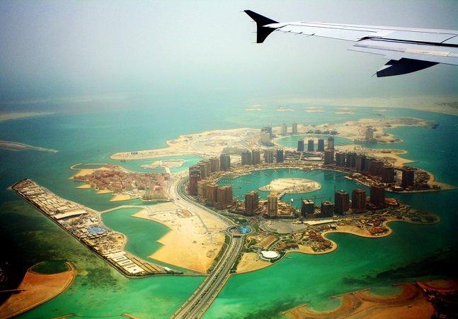 Série de fotos inspiradora mostra como são algumas cidades do mundo vistas da janela do avião