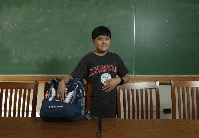Menino de 12 anos é aceito em uma das melhores universidades dos EUA