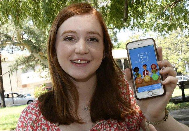 Jovem cria app que encontra companhia para alunos que almoçam sozinhos no colégio