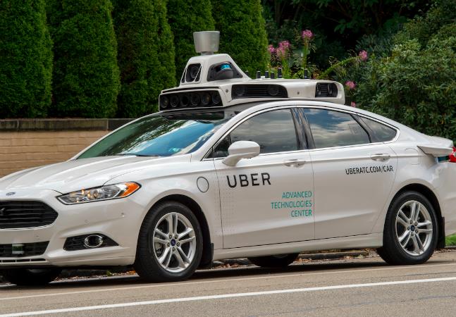 Uber começa a testar serviço de carros sem motorista