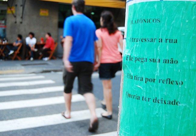 Estas 5 intervenções urbanas levaram a literatura para as ruas