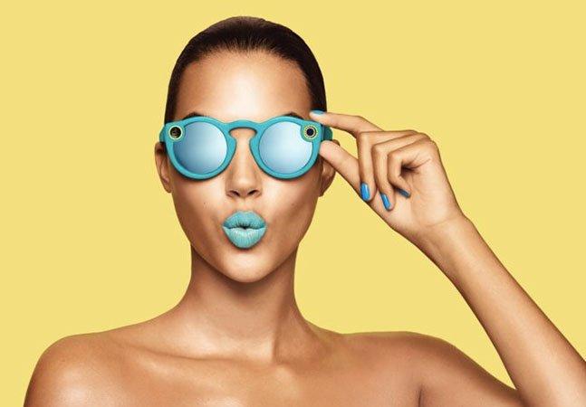 Snapchat lança novo óculos de sol que grava vídeos, tira fotos e publica as imagens diretamente na rede
