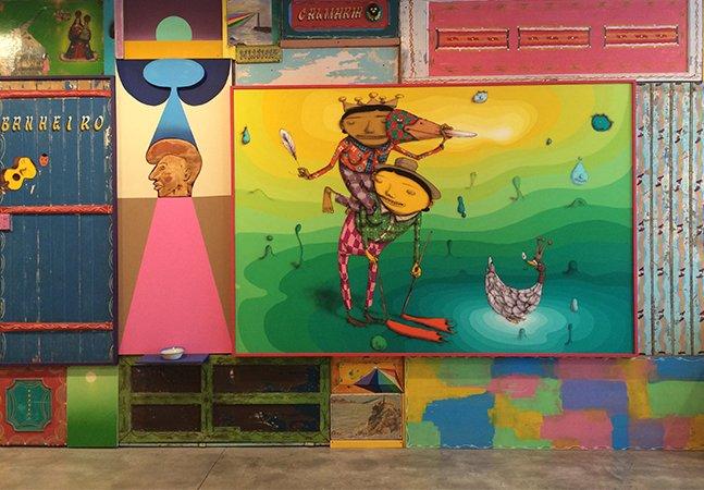 A exposição individual, multissensorial e INÉDITA da dupla OSGEMEOS em Nova York é um arraso
