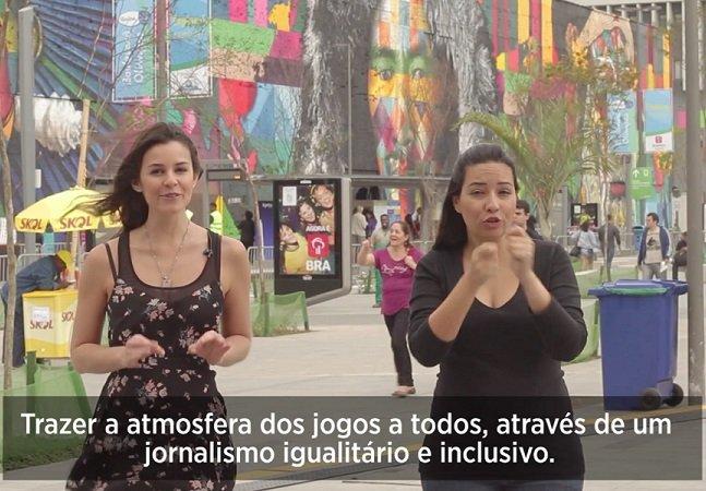 Gama.tv faz cobertura completa e acessível dos Jogos Paralímpicos