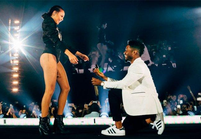 [VÍDEO] Beyoncé interrompe show para sua bailarina ser pedida em casamento
