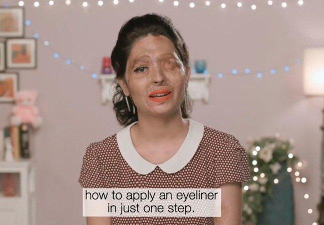 Esta mulher sobreviveu a um ataque com ácido e agora vai desfilar na semana da moda em NY
