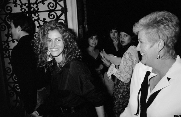 Julia Roberts e sua mãe, Betty Motes © Time & Life Pictures/Getty Images)