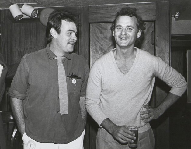 Os atores Bill Murray e Dan Aykroyd. Time & Life Pictures/Getty Images)