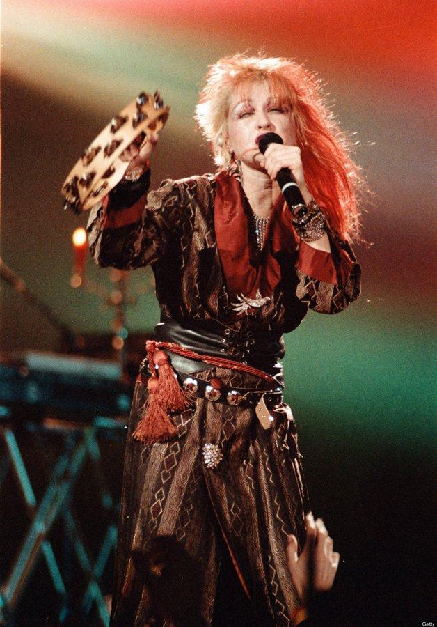 Cyndi Lauper em 1984 © Jim Steinfeldt/Michael Ochs Archives/Getty Images)