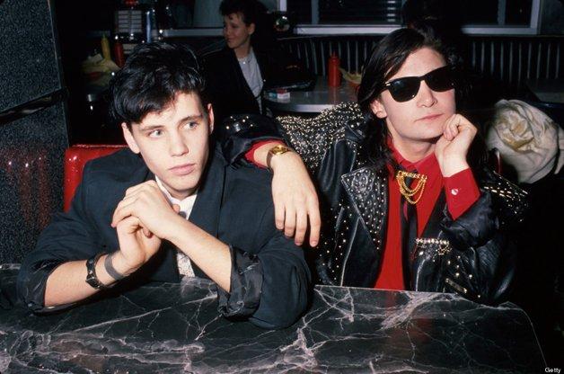 Corey Haime e Corey Feldman em 1989 © Time Life Pictures/DMI/Time Life Pictures/Getty Images