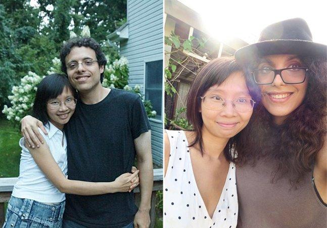 Seu marido tornou-se sua esposa e agora elas têm um filho com duas mães