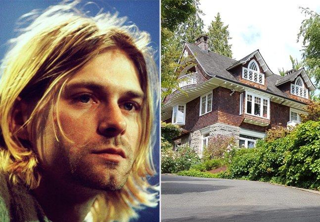 Como está hoje a casa em que viveu (e morreu) Kurt Cobain