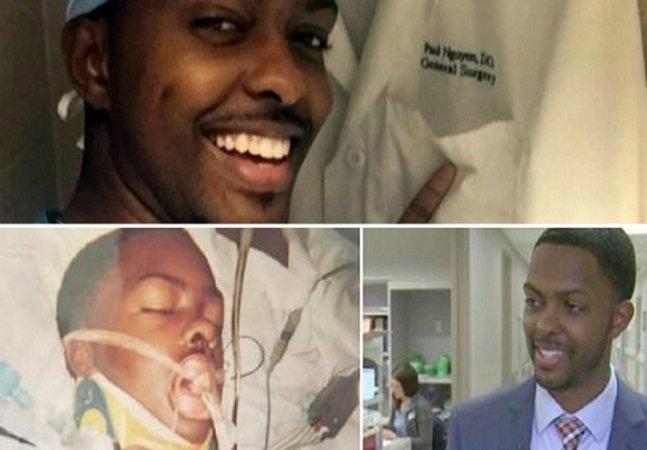 A história do jovem que foi baleado e virou cirurgião no hospital que salvou sua vida