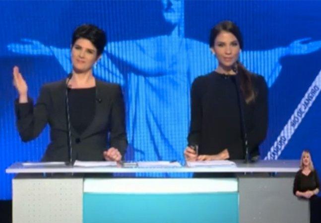 Mariana Godoy responde com ironia e inteligência ao comentário machista de Crivella no debate pra prefeitura do Rio
