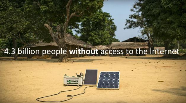 4,3 bilhões de pessoas sem acesso à internet