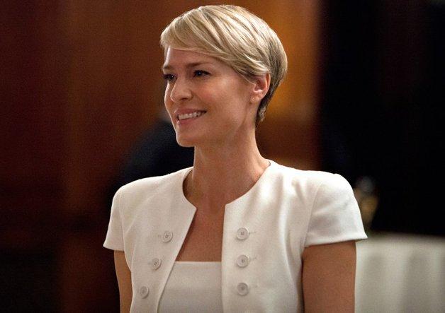 Até na ficção: Claire Underwood, personagem da série House of Cards