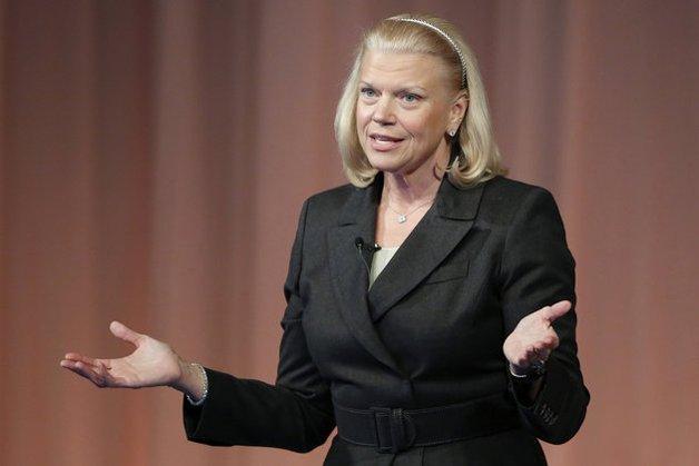 "Virginia ""Ginni"" Rometty, CEO da IBM"