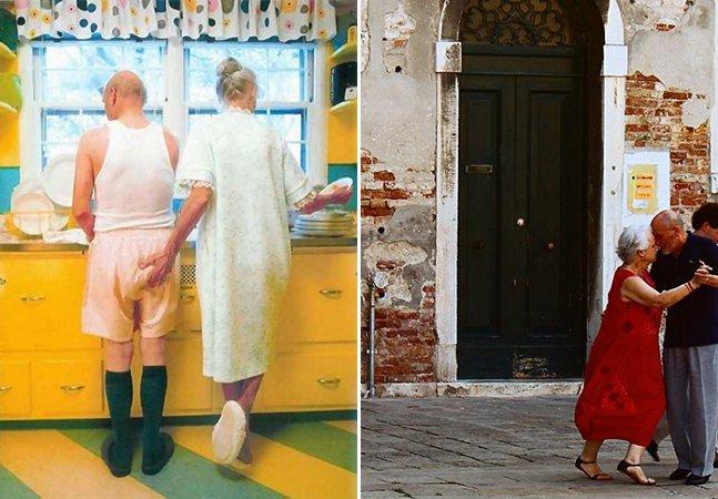 Esta série de fotos prova que o amor não tem idade pra acontecer