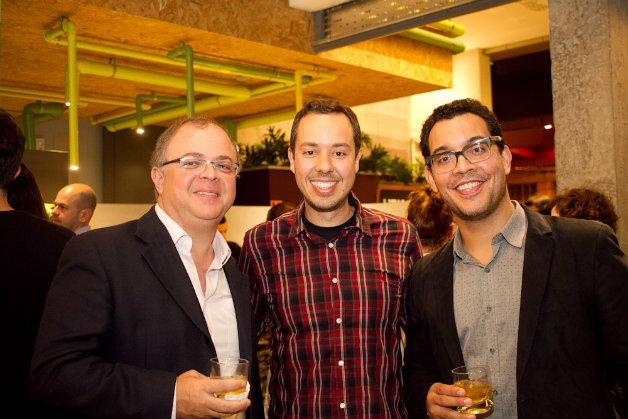 Carlos Spina, Gustavo e Lucas Foster