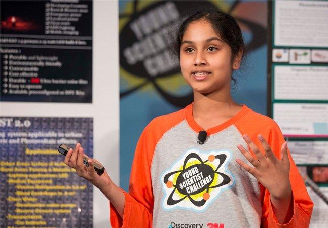 Menina de 13 anos cria dispositivo que gera energia limpa e custa apenas R$ 15