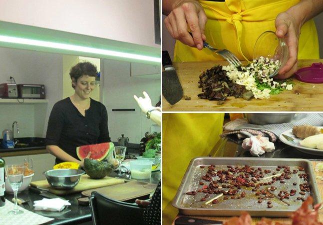 O que aprendi com a chef que cria receitas fantásticas com alimentos que iriam para o lixo