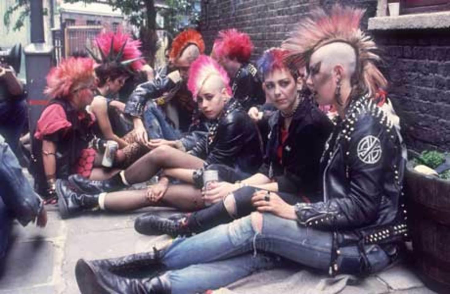 punks-anos-1980-autor-desconhecido