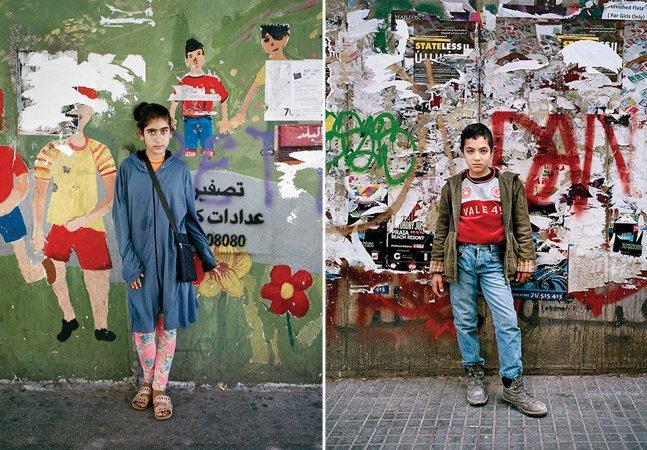 Fotógrafa capta retratos poderosos das 'crianças invisíveis' que crescem como refugiadas