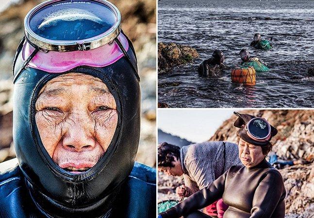 Conheça a última geração das 'sereias' de meia idade da Coreia