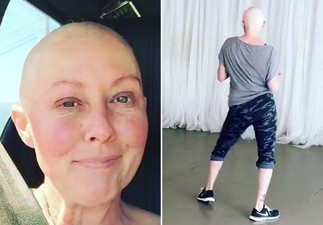 Atriz inspira milhares compartilhando seus exercícios físicos após sessões de quimioterapia