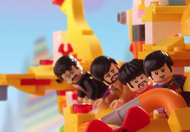 LEGO lança figurinhas dos Beatles junto com o famoso 'Yellow Submarine'