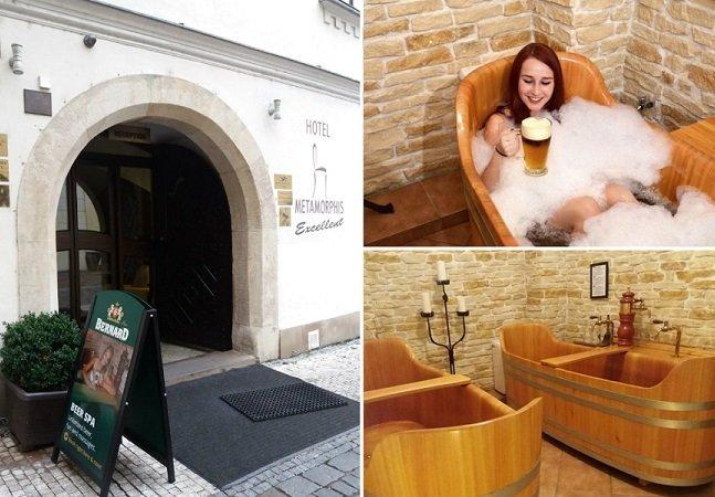 Fomos conhecer os spas de cerveja: uma deliciosa maneira de relaxar em Praga