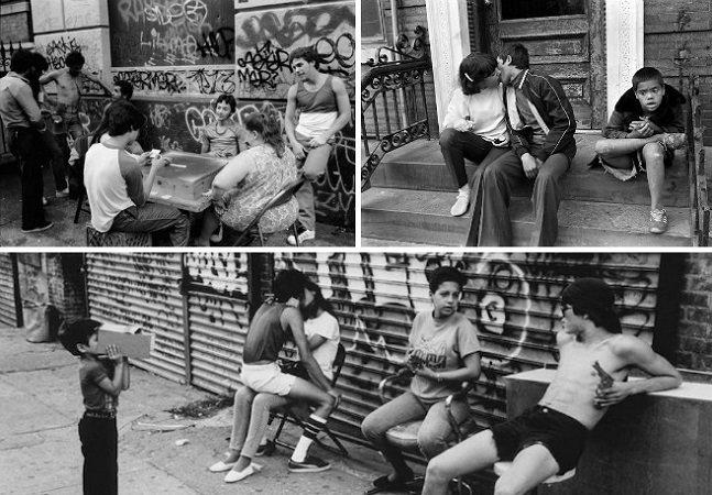 Ao longo de 30 anos ele fez registros impactantes de jovens e crianças do Bronx