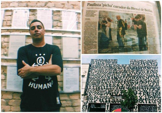 """Criptan Djan se lança nas artes, expõe seus 20 anos na pixação e avisa: """"o muro é mais autoritário que o pixo"""""""