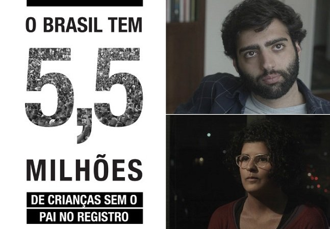 'Todos nós 5 milhões': documentário pretende abordar o abandono paterno no Brasil