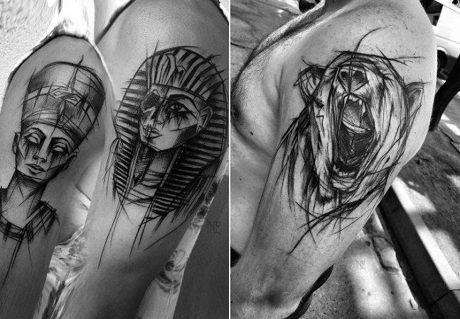 Você precisa conhecer as tatuagens imperfeitas – e incríveis – desta artista polonesa