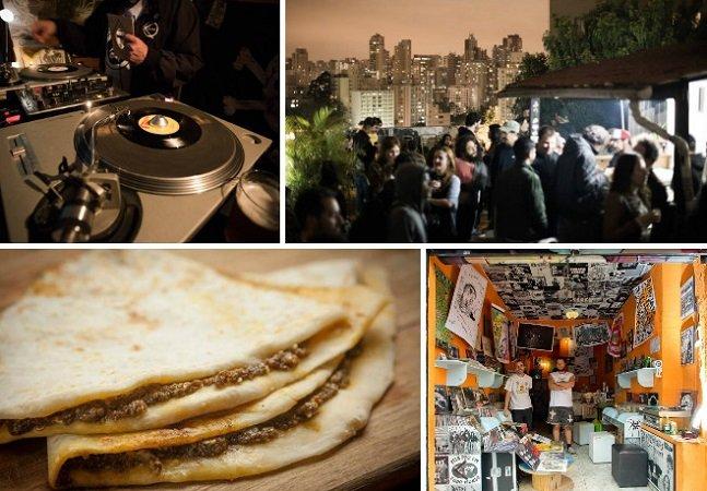 O bar em SP onde você pode saborear um jantar feito por refugiados em uma varanda incrível