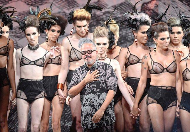 Ronaldo Fraga denuncia transfobia no Brasil em desfile da SPFW feito apenas com modelos transexuais