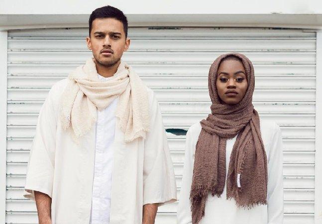 A maravilhosa linha de hijabs para homens e mulheres de todos os tipos