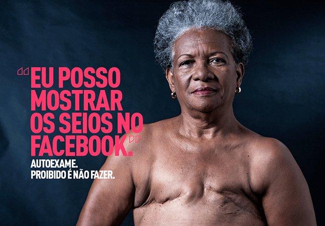 Campanha poderosa chama atenção para o combate ao câncer de mama