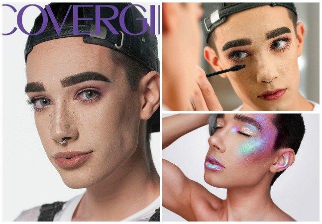 Essa marca de maquiagem arrasou ao escolher um homem como garoto da capa