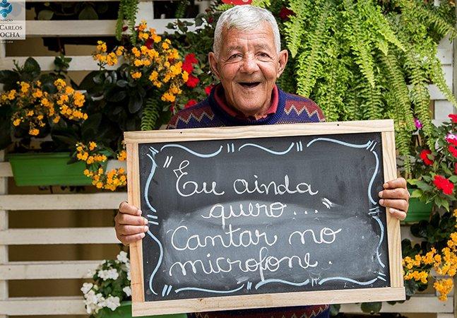 'Eu ainda quero…': idosos em asilos de SP contam quais são seus desejos em campanha encantadora