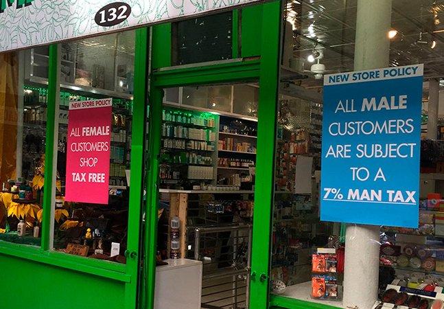 Por que nesta farmácia os homens pagam mais caro que as mulheres